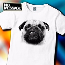 Remera Unisex Estampada Perros Animales No Message