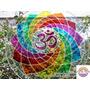 Mandala Om Multicolor 20cm Colores De Los 7 Chakras