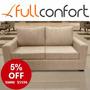 Sillon Sofa Living 2 Cuerpos Linea Premium + Cuotas Mp