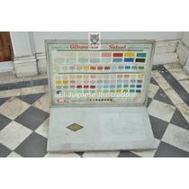 Cartel Exhibidor Alba Almacen No Enlozado Publicidad Antigua