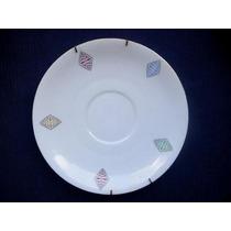 Antiguo Plato Decorativo De Porcelana Bavaria C/soporte
