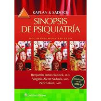 Kaplan & Sadock Sinopsis De Psiquiatria 11º Nue Env T/pais