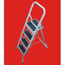 Escalera Metalica Plegable 4 Peldaños