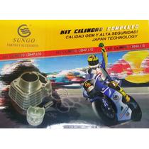 Kit Cilindro Completo Sungo Suzuki Ax 100