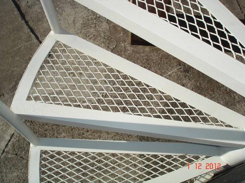 Escalera caracol 3 mts x 70 cm extra reforzada otros for Como hacer una escalera en caracol