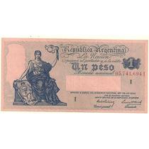 Billete 1 Peso Progreso Año 1941 Serie I Excelente+