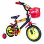 Bicicleta Rodado 12 Cars Para Nene Licencia Oficial