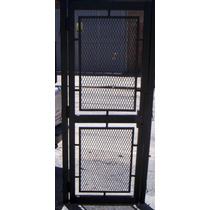 Puertas De Rejas Con Marco Maxima Seguridad