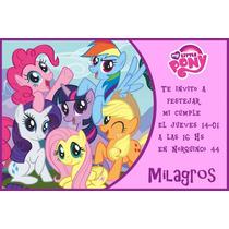 My Little Pony Tarjetas Personalizadas Para Imprimir