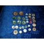 Lote De 37 Antiguos Botones De Nacar Color.microcentro-avell