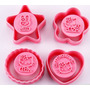 Moldes Cortantes Son Sello Hello Kitty Reposteria Galletas