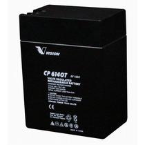Bateria Vision Cp6140 6v 14ah Autitos Juguetes Fisher Price