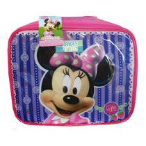 Lunchera Térmica Infantil Minnie Disney Original Metalizada