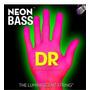 Cuerdas Fluorescentes Rosas Bajo 4 Cuerdas Dr Neon Pink 045