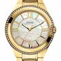 Reloj Guess Mujer W0112l1 Nácar Piedras Original Oficial