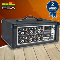 Consola Potenciada Gbr Power 6200 Mp3 Dj Audio Fiestas