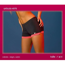 Short Dama Cocot Sport 4972 T 4/ Xl Acero-coral