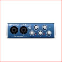 Placa De Audio Presonus Audiobox 22 Vsl Midi 2.0- En Palermo