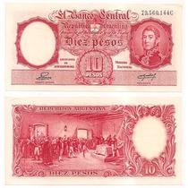 Billete Argentina 10 Pesos M / N 1953 Bot 1945