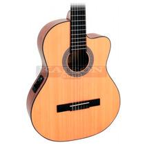 Guitarra Criolla Clasica Cort Ac120ce Con Eq Con Funda