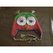Gorro Para Niños/as Tejidos A Crochet- La Plata