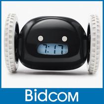 Reloj Alarma Despertador Con Ruedas Original Mobile Clock