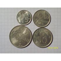 España Serie Monedas Mundial 82 5-25-50-100 Pesetas