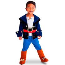 Disfraz Capitan Jake Y Los Piratas De Nunca Jamas, Original!