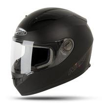 Casco Nitro Integral Mod.n2100 Negro Mate En Freeway Motos!
