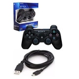 Joystick Sony Ps3 Original Wireless + Cable De Carga Colores