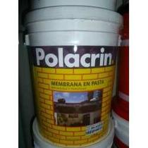Membrana En Pasta Polacrin X 4lts Super Oferta!!!