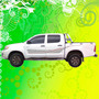 Calcomania Decoracion Toyota Hilux Srv 2009 - 2013
