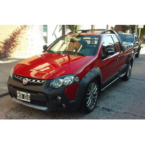 Fiat Strada Adventure C/extendida 1.6 16v.pintura Orig Gnc