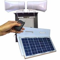 Alarma Vecinal Solar Comunitaria Domiciliaria Inalambrica