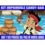 Kit Imprimible Jake Y Los Piratas Del Pais De Nunca Jamas