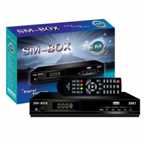 Smbox Sm7 Fta Tv Satelital Libre (para Arsat,hispasat,etc)