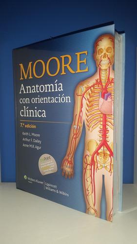 Anatomia Con Orientacion Clinica Moore 7°ed - $ 2850 en Melinterest