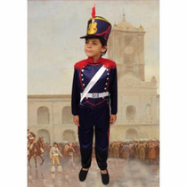 Disfraz Soldado Patrio Granadero Talles Candela