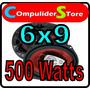 Juego De Parlantes Boss Ch 6940 6´´x 9´´ 4 Vias 500 Watts