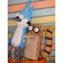 Piñata De Mordecai Un Show Más Y Todos Los Personajes!!!