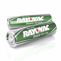 Pilas Aa Recargables Rayovac 1350mah Pack X24 Unidades