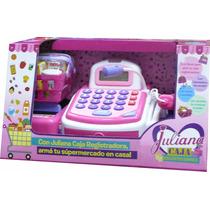 Caja Registradora Juliana Luces Sonidos Incluye Accesorios