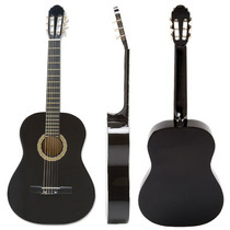 Guitarra Criolla Clasica Rockera Color Negro + Acc Musicotiz