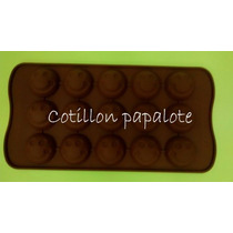 Placa Silicona Carita Feliz Smile Emoticon Bombon Chocolate