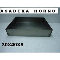 Asadera 30x40x8 P/ Horno Molde Torta Pastelero Bizcochuelo