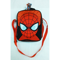 Lunchera Escolar Spiderman Hombre Araña Marca Original