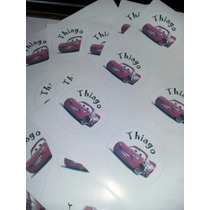 Stikers Autoadhesivos Personalizados The Cars