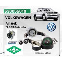 Kit Distribucion Amarok  2.o Ina Germany + Bomba Agua Dolz