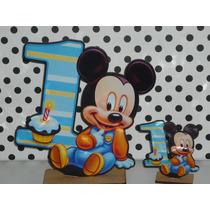 20 Souvenirs + Central Mickey Bebe Mi Primer Añito