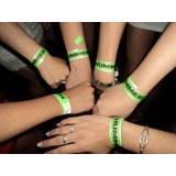 Pulseras Tyvek Premium - Made In Canada - Pack X100u.